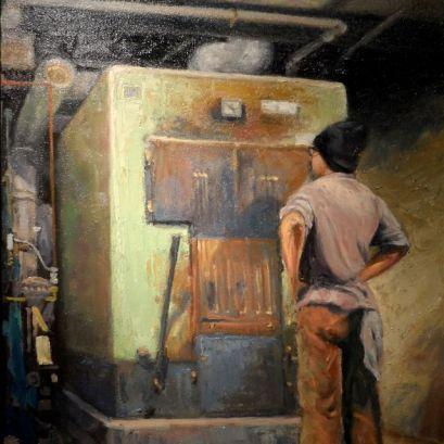 Painting by Dale Knaak (detail)