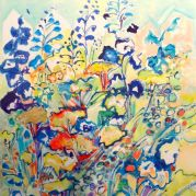 Painting by Kay Jelinek (detail)