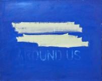"""around us, oil on canvas, 20""""x16"""", 2015"""