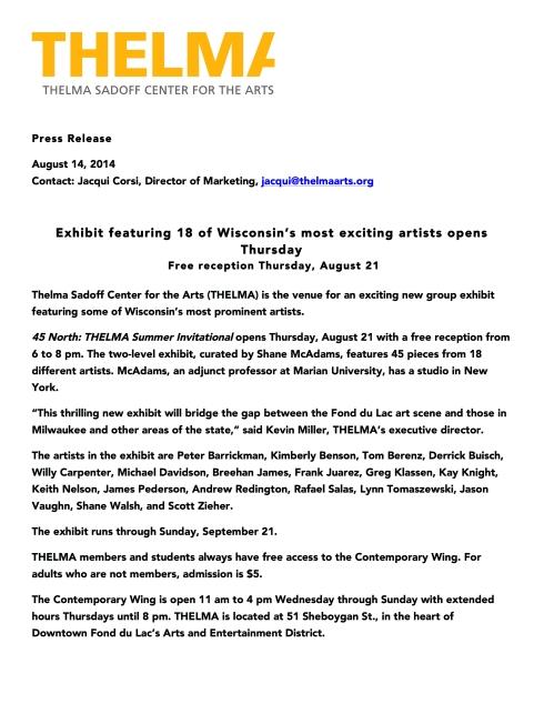 45 North THELMA Summer Invitational