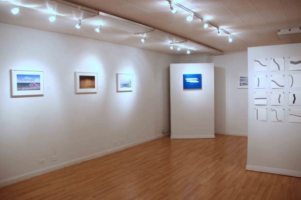 """the unexpected vista"" at the Brickton Art Center, Park Ridge, Illinois"
