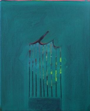 "Curtain, o/c, 20""x16"", 2013"