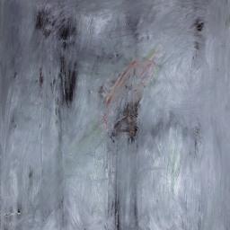 "Emergence III, o/c, 40""x32"", 2016"