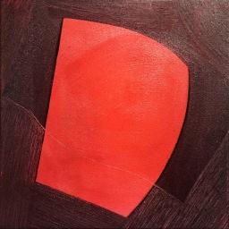 "Emergence V, o/c, 15""x15"", 2016"