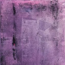 "Emergence VI, o/c, 15""x15"", 2016"