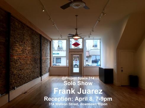 FJ solo show project space 314