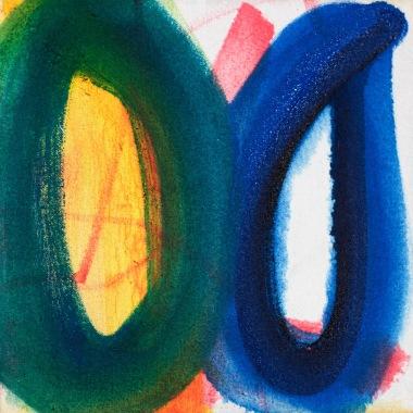 "Close, oil on canvas, 10""x10"", 2016, $100"