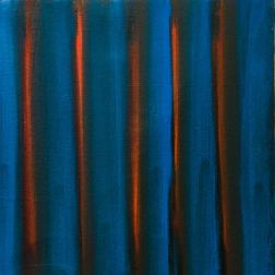 "Nightfall, oil on canvas, 10""x10"", 2016, $100"